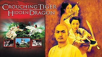 Is Crouching Tiger Hidden Dragon 2000 On Netflix Germany
