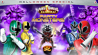 Power Rangers Samurai: Party Monsters (Halloween Special)